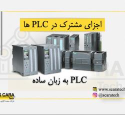 اجزای تشکیل دهنده PLC ها و اتوماسیون صنعتی